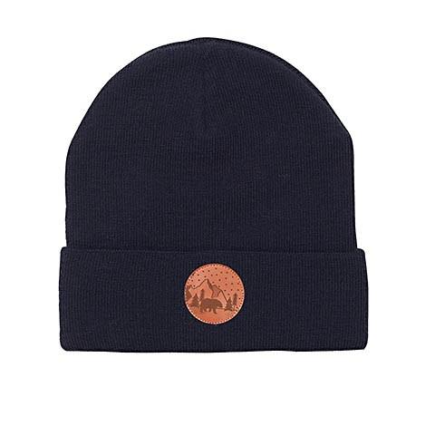Vegane Mütze | KABAK Cotton Beanie Navy