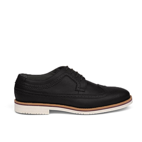 Veganer Schnürschuh | FAIR Brogue Shoe Black