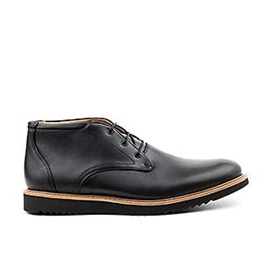 Veganer Chukka Boot | AHIMSA Thomas Vegan Leather Black