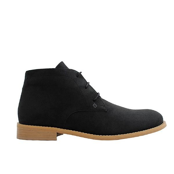 Veganer Chukak Boot   FAIR Desert Boot Black