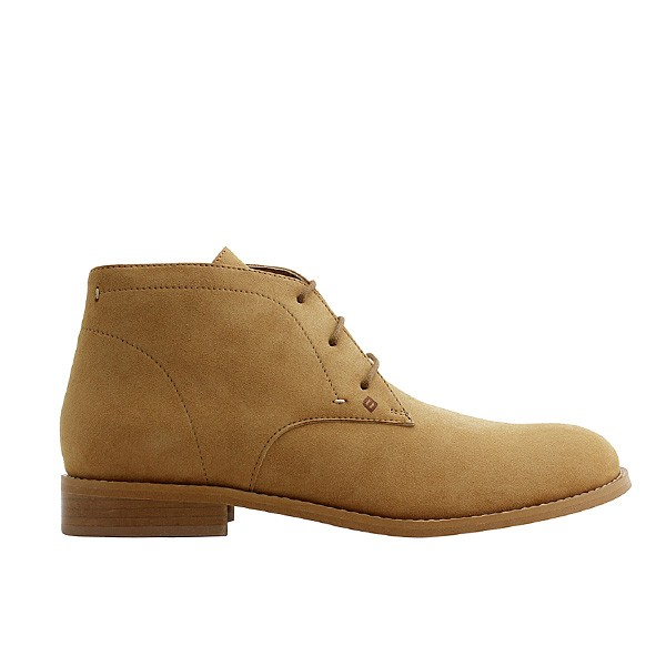 Veganer Chukak Boot | FAIR Desert Boot Light Brown