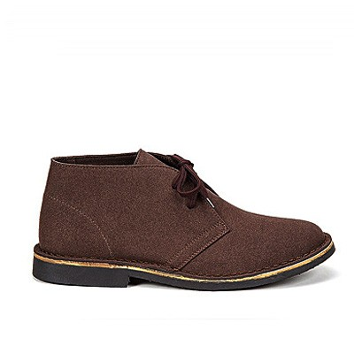 Veganer Desert Boot | ALTERCORE Rony Dark Brown