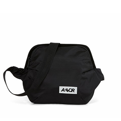 Vegane Gürteltasche | AEVOR Hip Bag Plus Ripstop Black