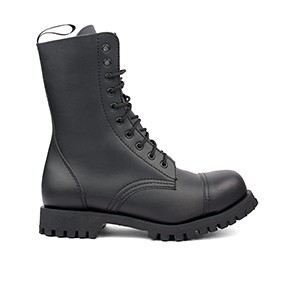 Veganer Schnürstiefel | ALTERCORE 551 Black