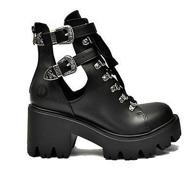 Veganer Damenstiefel | ALTERCORE Sadie Black