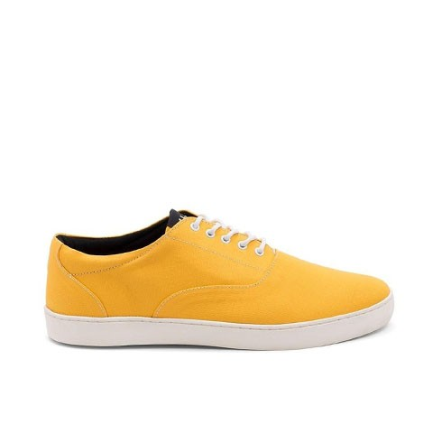 Veganer Sneaker | AHIMSA Wave Yellow