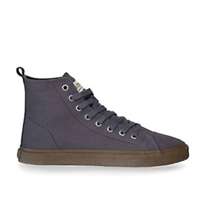 Veganer Sneaker | ETHLETIC Fair Sneaker Goto Hi Pewter Grey