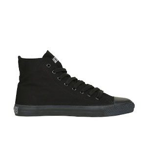 Veganer Sneaker | ETHLETIC Fair Trainer Black Cap Hi Cut Jet Black