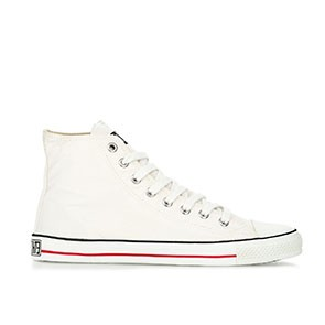 Veganer Sneaker - Ethletic Fair Trainer Hi Cut Just White