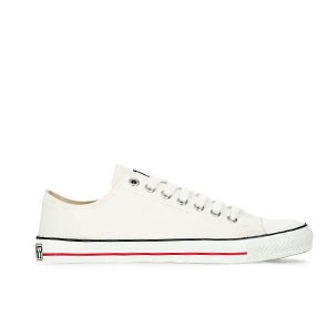Veganer Sneaker - Ethletic Fair Trainer Lo Cut Just White