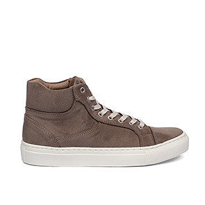 Veganer Sneaker | GRAND STEP SHOES Sally Suede Taupe