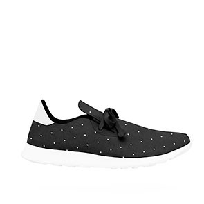 Veganer Sneaker | NATIVE SHOES AP Moc Embroidered Jiffy Black