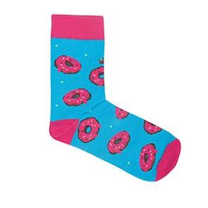 Vegane Socken | KABAK Socks Donuts Blue