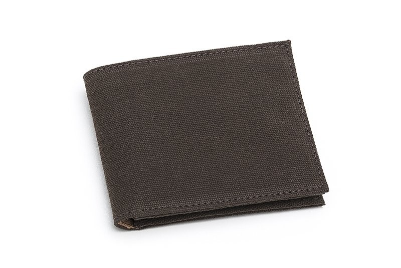 Vegane Geldbörse   AHIMSA Zipped Wallet Espresso